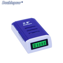 4 slots Doublepow DP-K209 LCD Intelligent Rapid Charger for 1.2V AA/AAA Ni-MH / Ni-CD rechargeable batteries OEM is acceptable