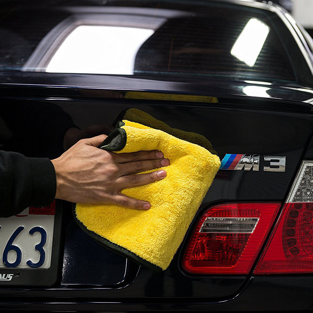 4 Size Super Absorbent Car Wash Cloth Microfiber Towel Cleaning Drying Cloths Rag Detailing Car Towel Car Care Polishing 20