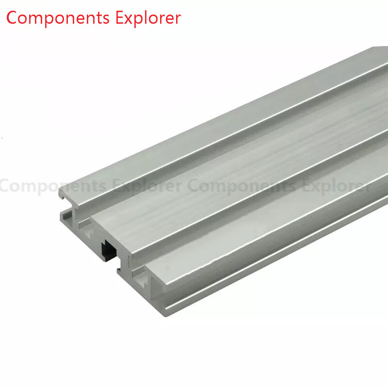 Arbitrary Cutting 1000mm 2080GW Aluminum Extrusion Profile,Silvery Color.