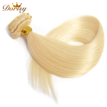 613 Blonde Clip In Human Hair Full Head Clip In Human Hair Extensions 8 Pcs/Set Remy Straight Human Hair Optional 18-22 Inch
