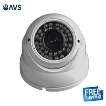 Long View Distance Varifocal Lens 1080P Vandalproof Indoor CCTV CVI Dome Camera