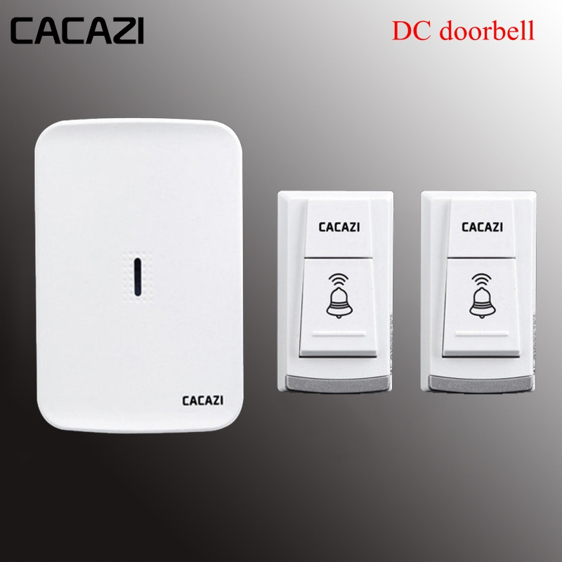 Wireless doorbell home electronic elderly DC battery pager move freely waterproof 2 transmitter+1 receivers wireless door bellWireless doorbell home electronic elderly DC battery pager move freely waterproof 2 transmitter+1 receivers wireless door bell