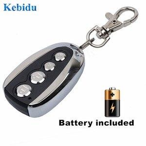 Image 5 - نسخة جديدة من kebidu جهاز إرسال عن بعد بتردد 433 ميجا هرتز يعمل بمدخل باب جراج جهاز إرسال كهربائي لبوابة السيارة وجها لوجه