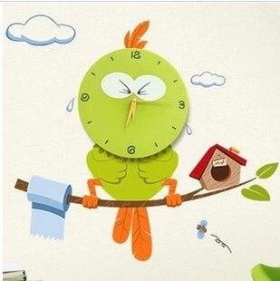 Exceptional 3D Eye My Little Tension Bird Cartoon Watch Poni Milk Cute Children Clock /  Kid Quartz Amazing Design