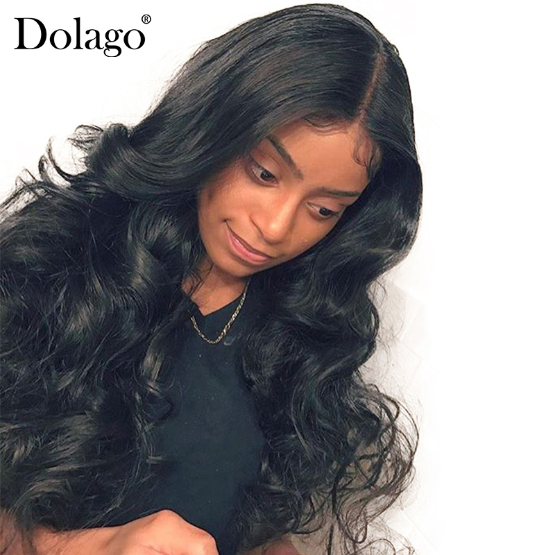 360 Lace Frontal Wig 150 Density Brazilian Body Wave Lace Front Human Hair Wigs Pre Plucked