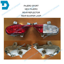 2010 2011 2012 2013 2014 2015 PAJERO SPORT REAR BUMPER LAMP 8336A073 8336A074 darker challenger rear fog lamp without bulb