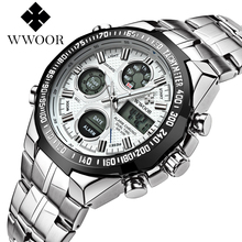 Fashion Top Brand Waterproof Luxury Steel Men Wristwatches Quartz Watch