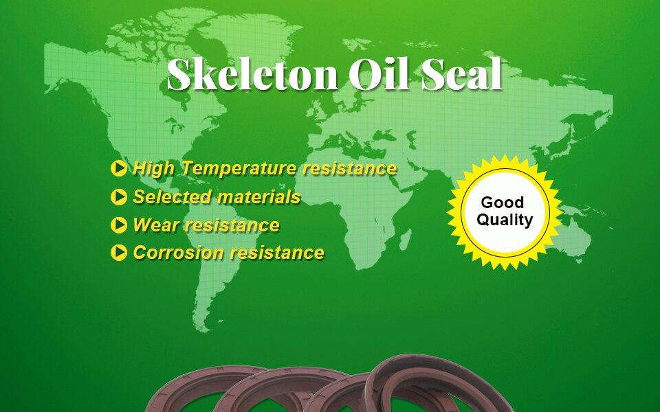 Metric Shaft Oil Seal 19mm ID x 35mm OD x 10mm wide 19x35x10 OILSEAL