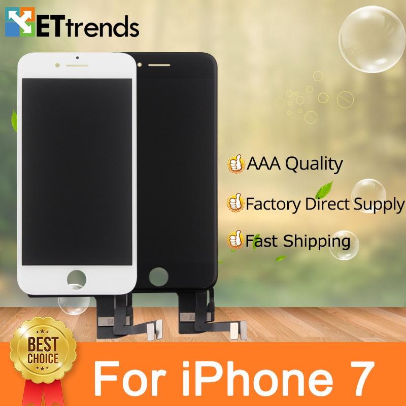 10 teile/los Grad AAA Für iPhone 7 Lcd-bildschirm Touch Digitizer Montage 100% Getestet Keine Tote PixeL Dhl-freies Verschiffen