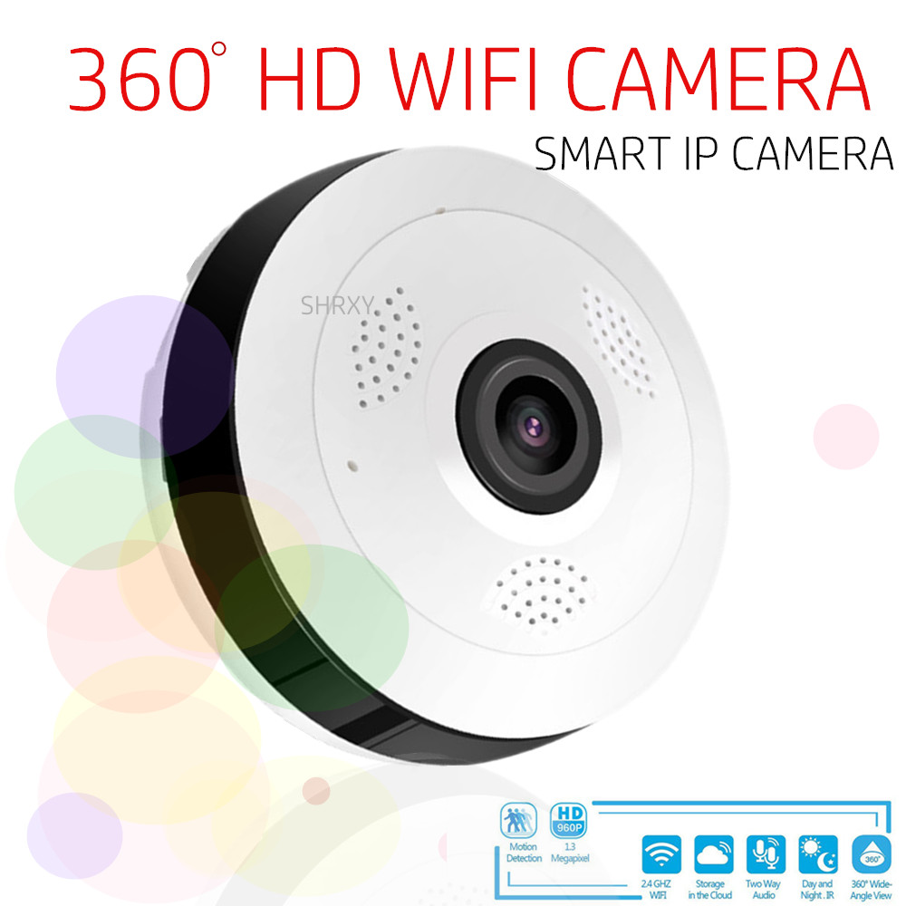 CCTV Camera Wide Angle P2P 960P HD Security Wifi Smart Home Camera