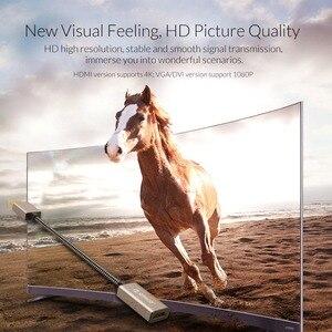 Image 4 - オリコ 4 18k 1080 1080p 30 60hz dp hdmi 男性女性 vga ミニ dp 2 ポート canble hd コンピュータモニター画面アダプタデュアルスクリーン