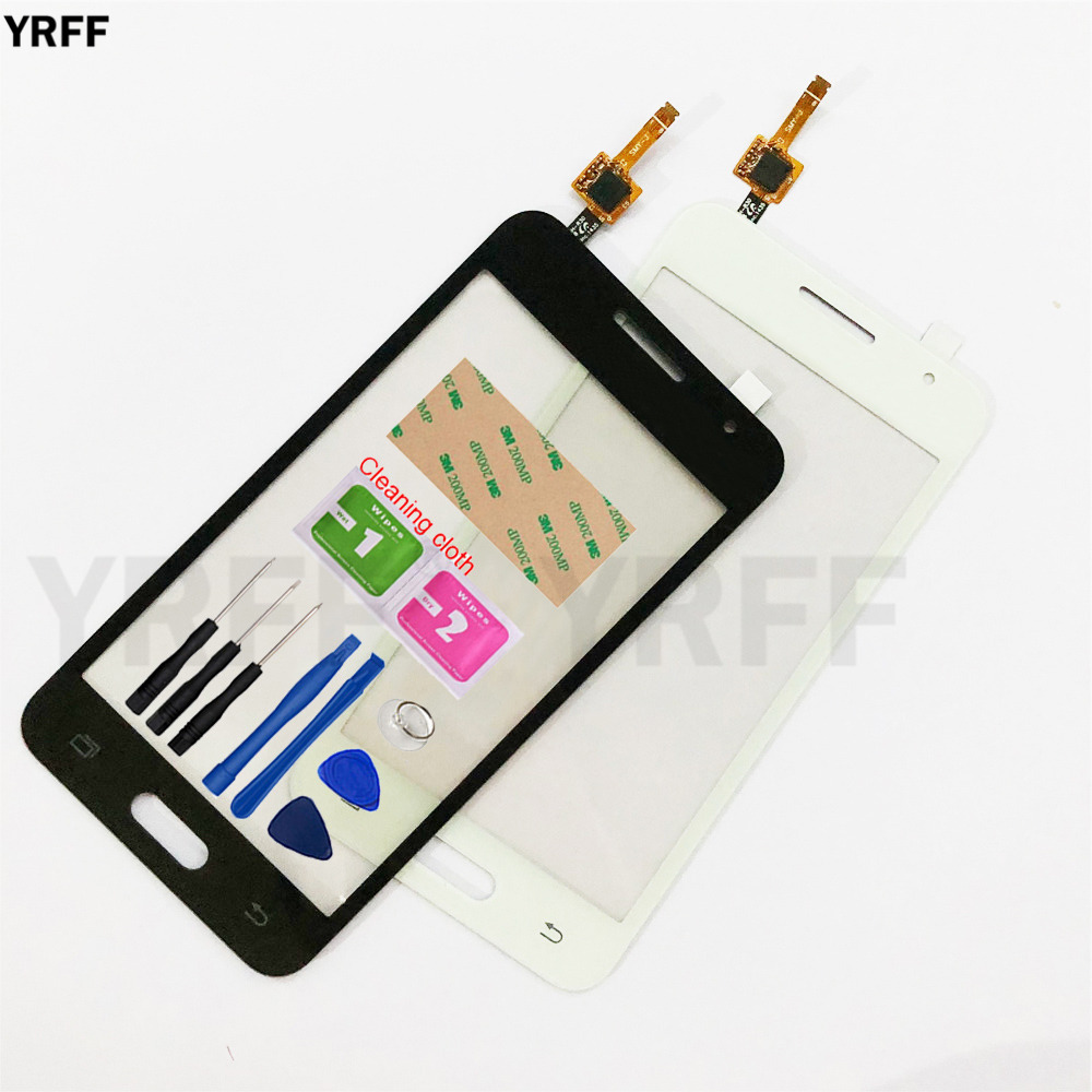 4.5'' Touch For Samsung Galaxy Core 2 G355H Touch Screen Digitizer Sensor Touch Glass Lens Panel Replacement