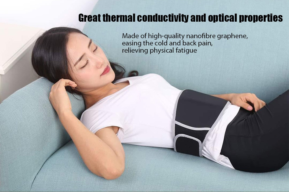 Xiaomi PMA Lumbar Beltmenstrual heating pad A10 Treatment Belt Graphene fever,Ultra-thin,Second heat technology Anti-scald (17)