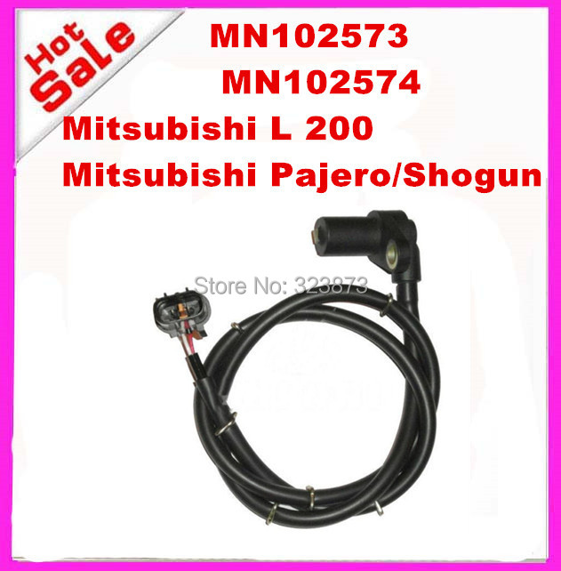 High Quality Auto new ABS Sensor MN102573 Front Left for 2010 2012 For Mitsubishi L200 Triton