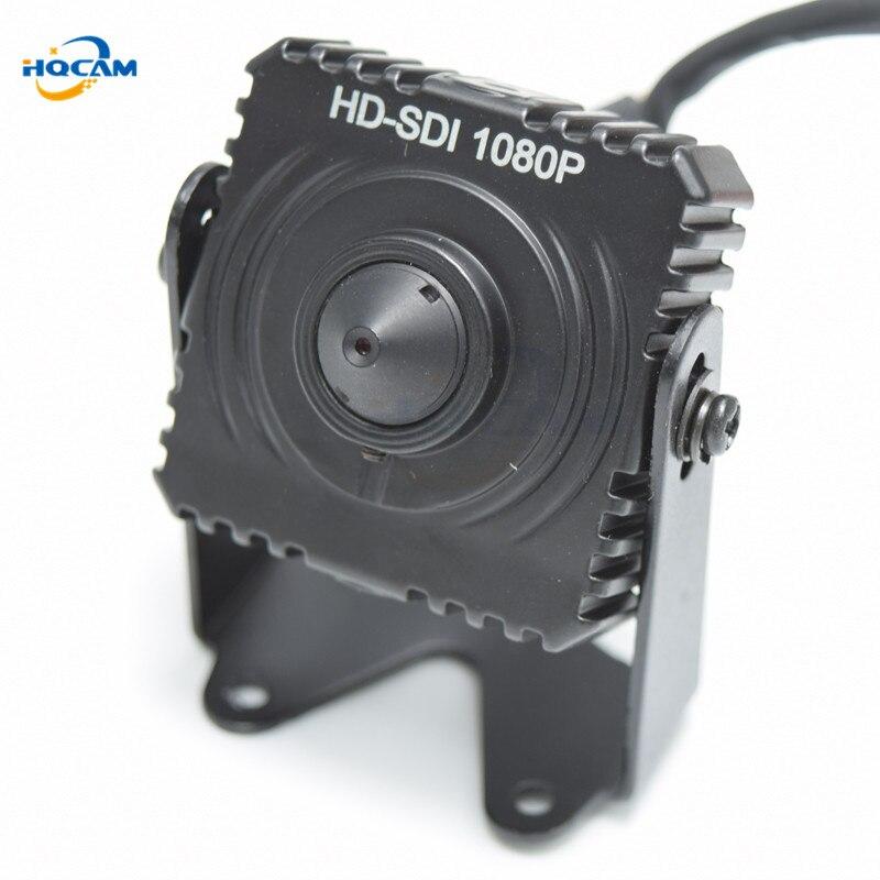 HQCAM 1080P Small SDI Camera 1/3 inch progressive scan 2.1 Mega Pixel Panasonic CMOS Sensor Mini SDI Camera HD SDI cctv Camera [best buy] fish eye len action camera 16 mega pixel 1 2 3 cmos sensor 220d compatible gopro free shipping