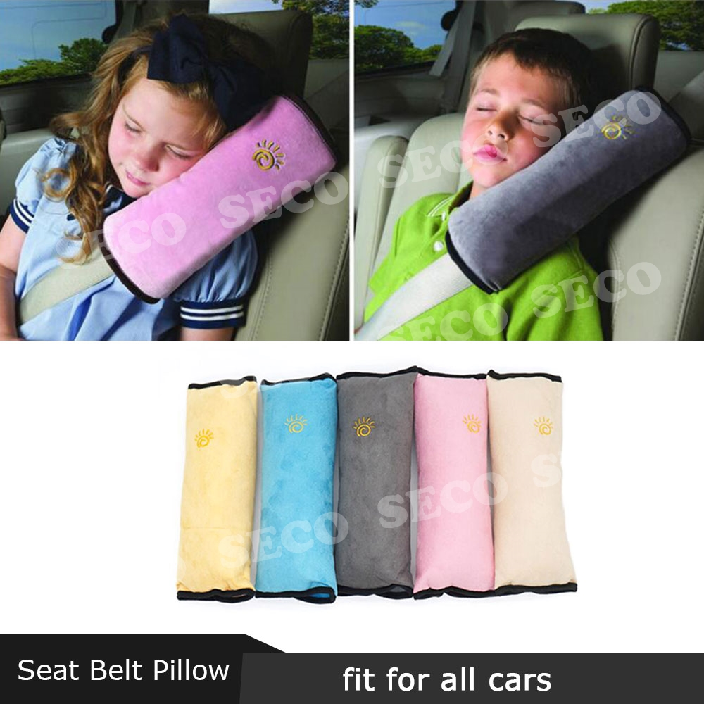 Universal Children Kids Car Safety Seat Belt Pillow Shoulder Strap Cover Pad USA