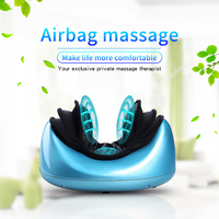 Vibrating kneading neck massager pillow infrared shiatsu.Electric shoulder back massager car.Cervical vertebra therapy