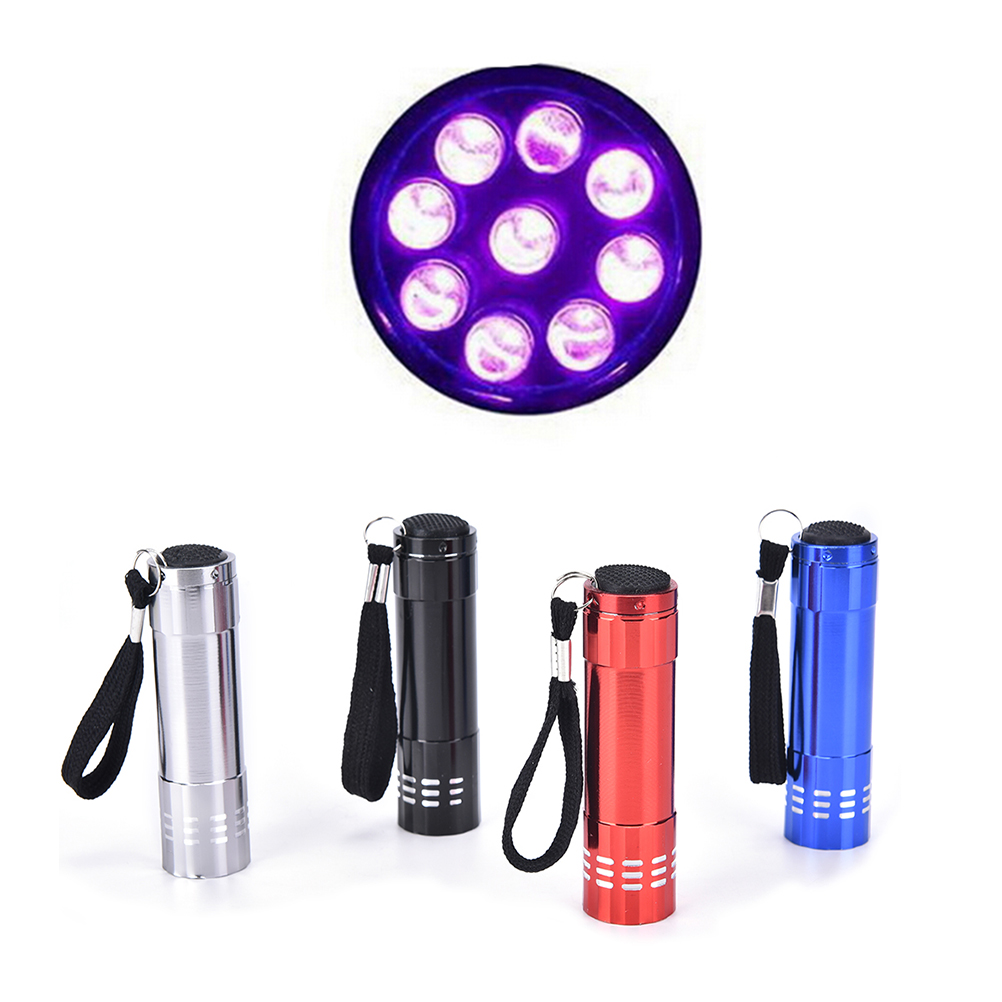 Mini Led Uv Gel Curing Lamp Portable Nail Dryer Led Flashlight Currency Nail Art Makeup Tool Nail Dryers Beauty & Health