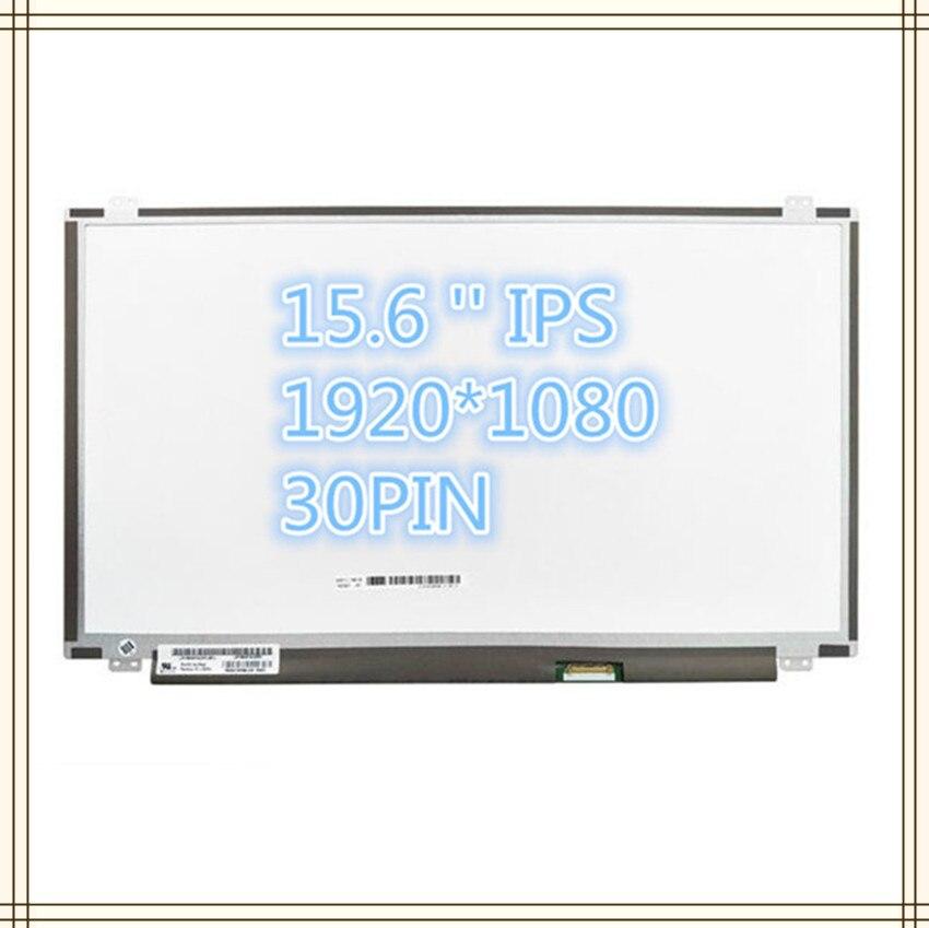 Free Shipping LP156WF6 SPL1 SPC1 SPK1 SPB1 SPM1 SPA1 SPH1 B156HAN01.2 LP156WF4 SPB1 IPS 30PIN  1920X1080 LCD SCREEN PANEL