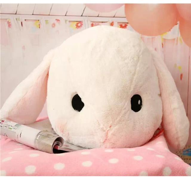 Мультфильм плюшевый кролик, голова кролика большая подушка, его подруга подарок, куклы и Мягкие Игрушки, Мягкие игрушки и Плюшевые игрушки,