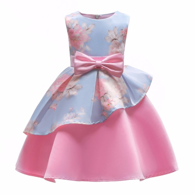 d97949ffd new style a9a00 6e208 girl a line dress new summer bow design plaid ...