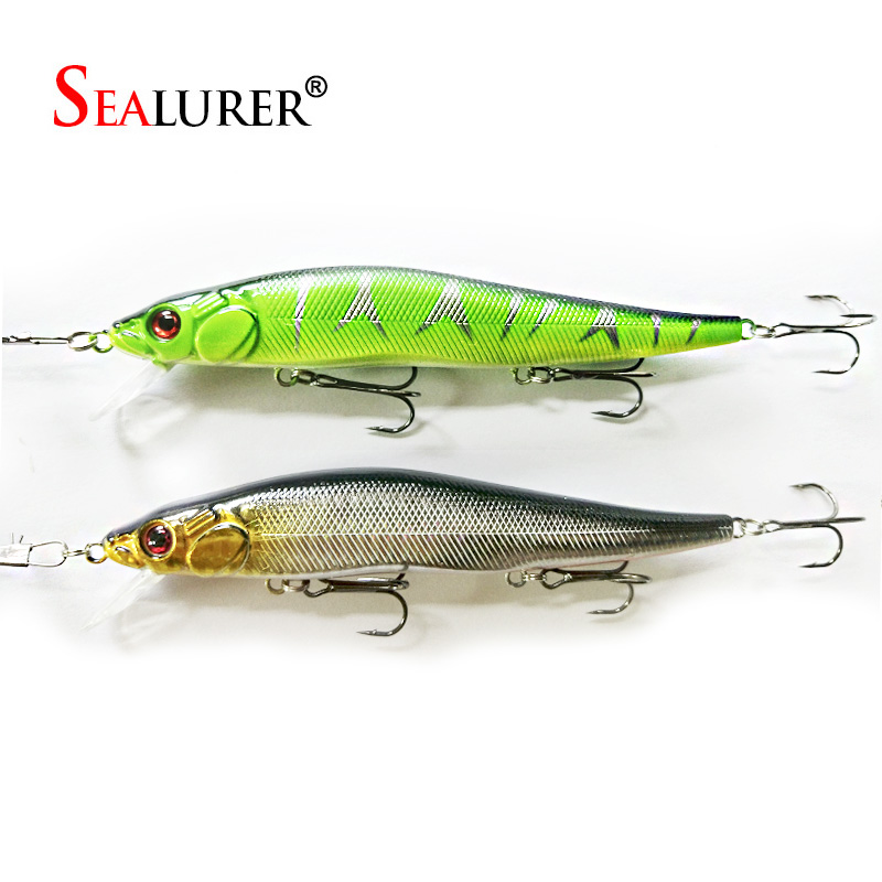 2PCS/Fishing Lure 14cm 23g Hard Plastic Minnow Plastic Artificial bait  3D Eyes Crankbait Lifelike Bait With Three Fishing Hooks 1pcs 12cm 14g big wobbler fishing lures sea trolling minnow artificial bait carp peche crankbait pesca jerkbait ye 37