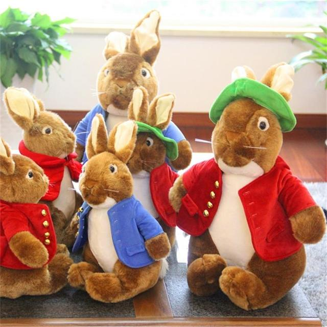 Cartoon Peter Rabbit dolls stuffed toys will sound Quality and cheap factory direct sales Essential gifts