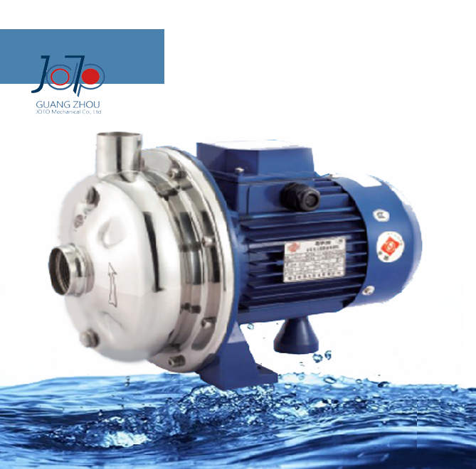 WB50/037D 220V 50Hz Single Phase Stainless Steel Centrifugal Water Pump Sanitary Pump Beverage Pump Circulating Dishwasher Pump 1 2hp 220v 50hz single phase small stainless steel centrifugal water pump sanitary pump beverage pump dishwasher pump