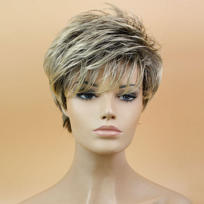 Awe Inspiring Compare Prices On Blonde Pixie Cut Wig Online Shopping Buy Low Hairstyle Inspiration Daily Dogsangcom