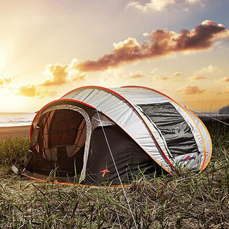 free shipping super automatic 5-6 people Korean brand throwing pop up large family tent second open tent комбинезон free people free people fr045ewtgl49 page 5