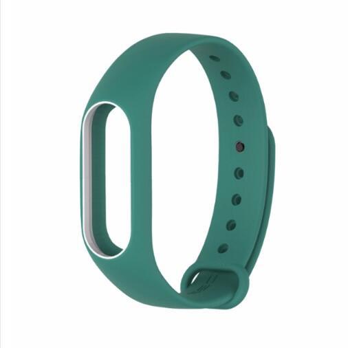 Original Mijobs Wrist Strap for Xiaomi Mi Band 2 Silicone Strap Bracelet Replacement Miband 2 Accessories