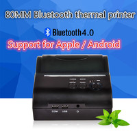 ZJ 8001 portable Bluetooth wireless thermal printer support for print width 80mm Andrews