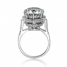 Choucong 2016 Женская Мода Корона кольцо 5ct AAAAA циркон cz Стерлингового Серебра 925 Обручальное Кольцо Обручальное Кольцо для женщин
