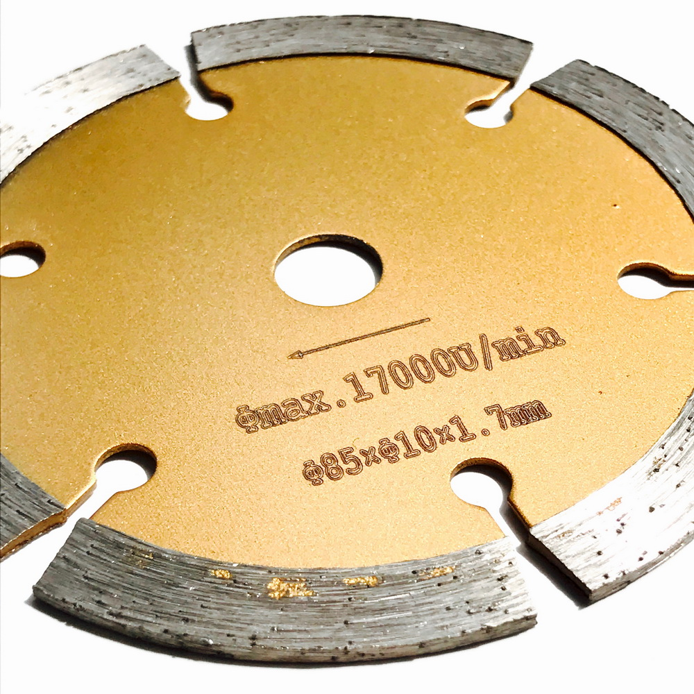 Spedizione gratuita 1pc 85 * 15/10 * 4mm disco da taglio a secco con - Lama per sega - Fotografia 5