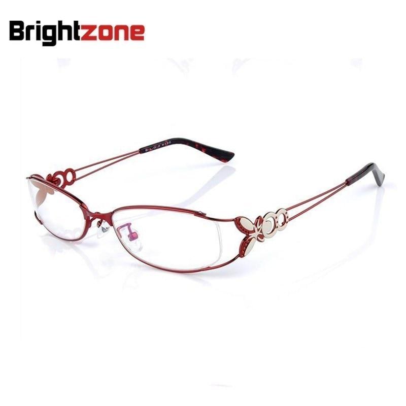 Alta Qualidade Super-leve Moda Feminina Borboleta Gases de Receita de Óculos  De Prescrição RX Armações oculos de grau 772b110f6b