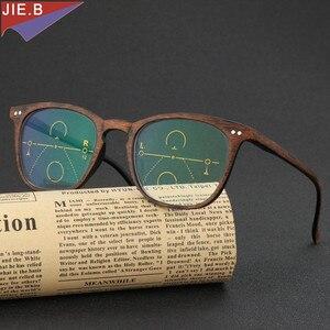Image 3 - 2019 Ultra Light antifatigue Progressive Multifocal Fashion  Reading Glasses men Female Bifocal Intelligence diopter glasses