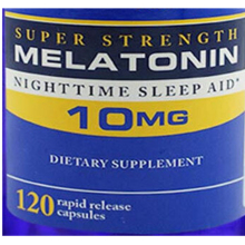 Суперпрочный мелатонин 10 мг* 120 шт помогает улучшить сон в ночное время, помощь для сна