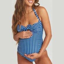 MUQGEW, женский купальник, для беременных, с принтом, летний костюм, бикини, одежда для плавания, купальник, купальник, пляжная одежда для женщин