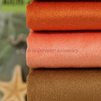 Luxurious Two Color Two Side Fleece Fabric Semi Worsted Polyester Viscose Woolen Fabric Coat Windproof Fabric