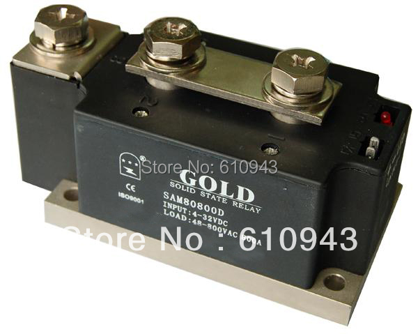 High power  industrial class solid state relay SAM80800D 800A 40-800VAC 4-32VAC 2v025 08 1 4 2 position 2 port 2 way air solenoid valves pneumatic control valve dc12v dc24v ac36v ac110v ac220v