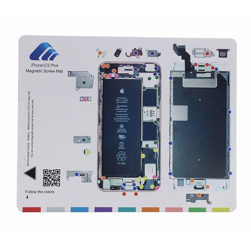 9ks ruční mobilní telefon magnetická rohož 20 * 25cm šroubovák - Sady nástrojů - Fotografie 3