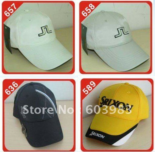 30 pcs Top quality golf hat adjustable size and metal marker mix styles,top quality Brand hats freeshipping