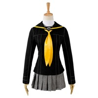 Shin Megami Tensei Persona 4 P4 School Girl Uniform Anime Halloween Cosplay Costumes For Women Custom