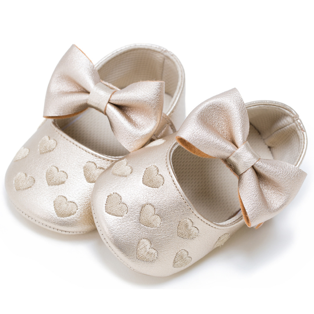 Baby Boy Girl Moccasins Moccs Shoes for Baby Girls Infants Toddlers PU Leather Bow Fringe Soft Sole Infant Footwear Crib Shoes