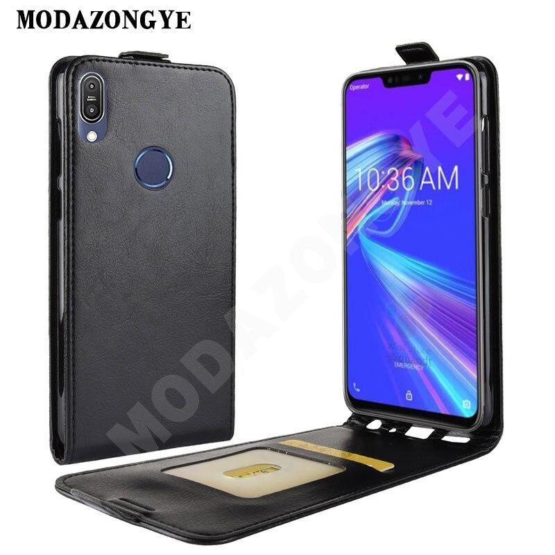 Asus Zenfone Max Pro M2 ZB631KL Case 6.0 Wallet PU Leather Back Cover Phone Case For Asus Zenfone Max M2 ZB633KL ZB 633KL 631KL