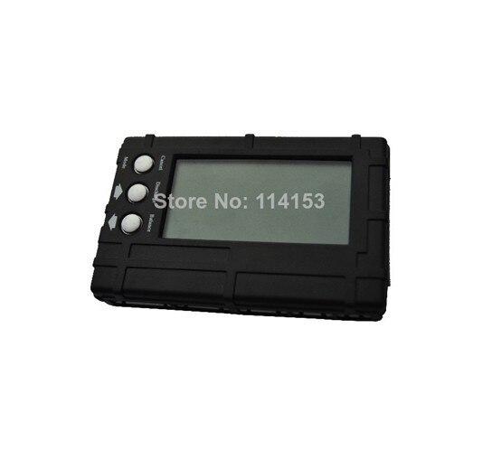 LHM027 registro envío gratuito + 3in1 RC 2 s-6 S Lipo Li-Fe balanceador de batería LCD + tensión probador medidor + descargador +