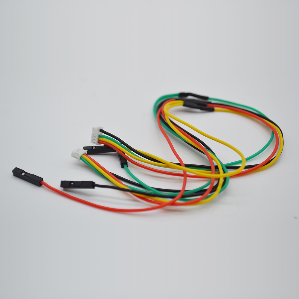 2 Pieceslot APM 2.5 2.6 connect to 3DR Telemetry Radio OSD Y type cable Telemetry  OSD Y-cable Flight Controller