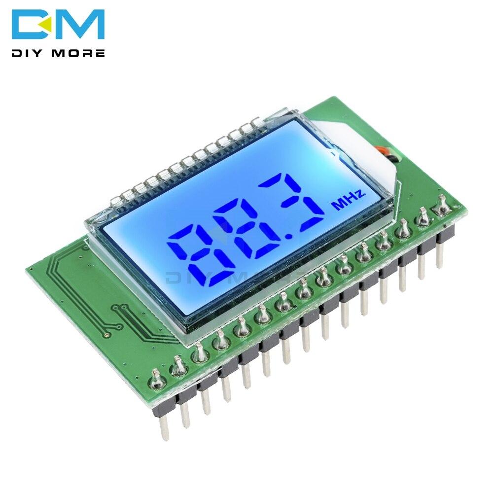 Wireless PLL LCD 87-108MHZ Digital FM Radio Transmitter/Receiver Module Microphone Stereo Board Noise Reduction Module Diy Kit