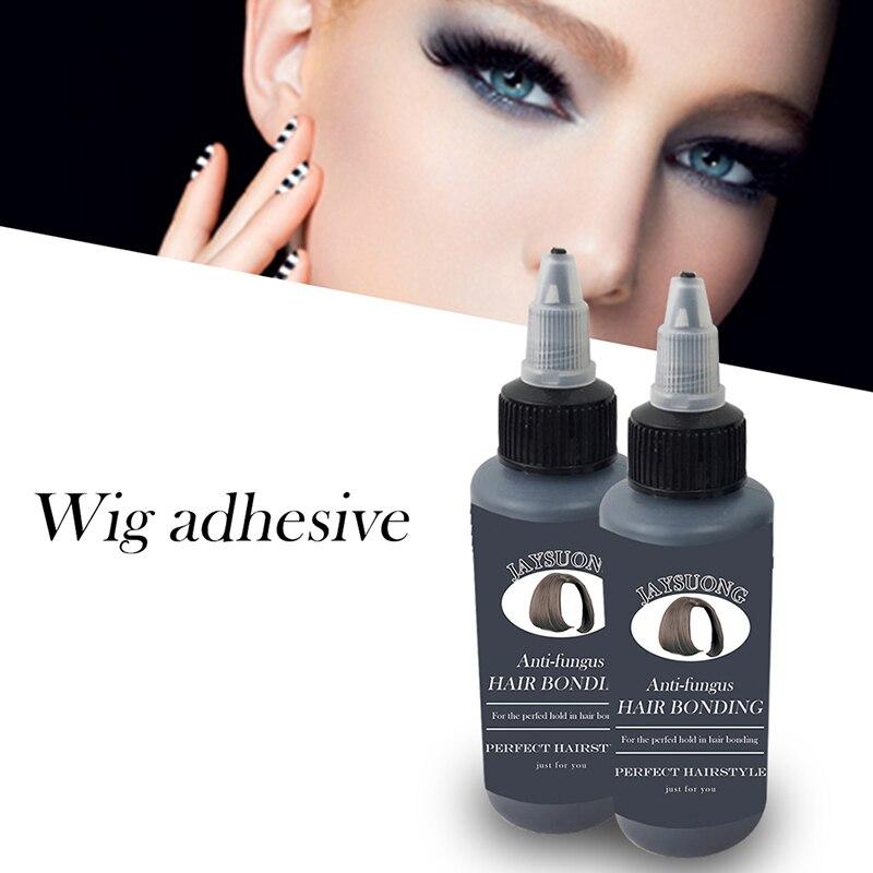 Hair Eyelashes Bonding Glue Hair Eyelashes Extensions Super Bonding Liquid Glue For Weaving Weft Wig Waterproof Makeup Faux Cils