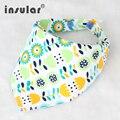 100% Algodón Paño Del Burp Del Bebé Recién Nacido Baberos Impermeables Babero Para Niños Y Niñas de Bebé de Doble Cara Bufanda